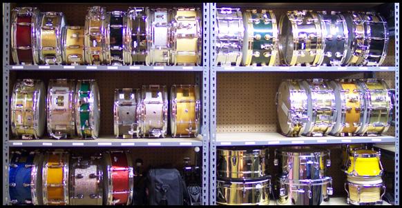 Soundcheck, The Largest Drum Backline in Nasville