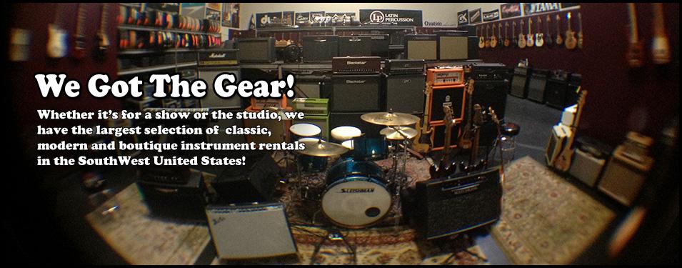 Soundcheck | Pro Backline Rentals in Nashville TN | Tour Support