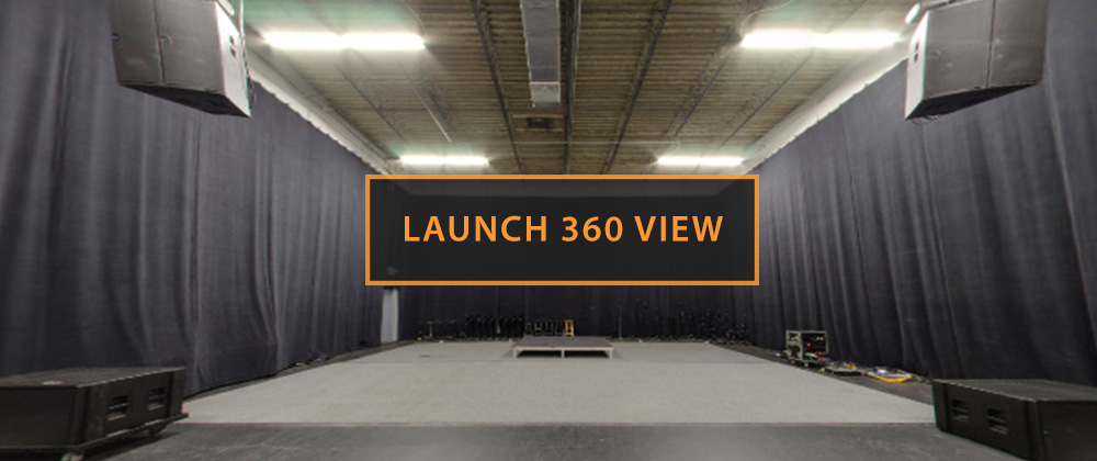 Rehearsal Studio B Launch 360 View