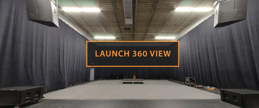 Rehearsal Studio B Launch 360 View