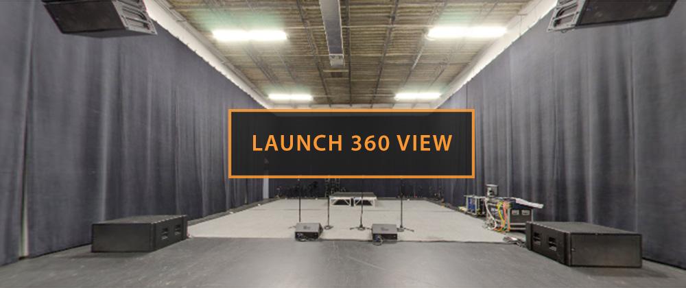 Rehearsal Studio C Launch 360 View