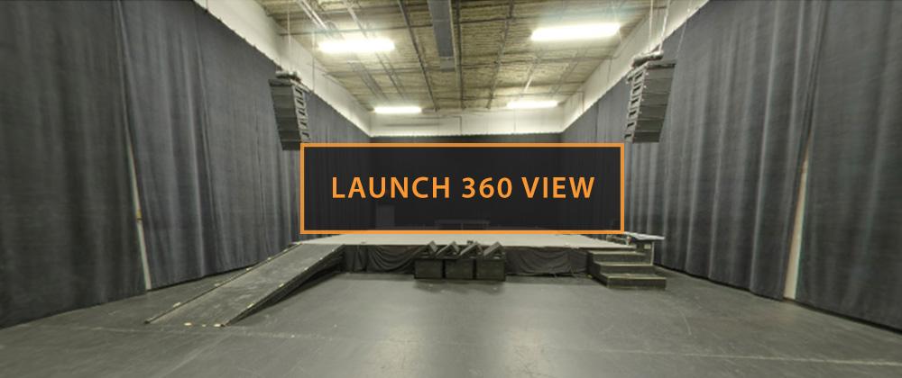 Rehearsal Studio D Launch 360 View