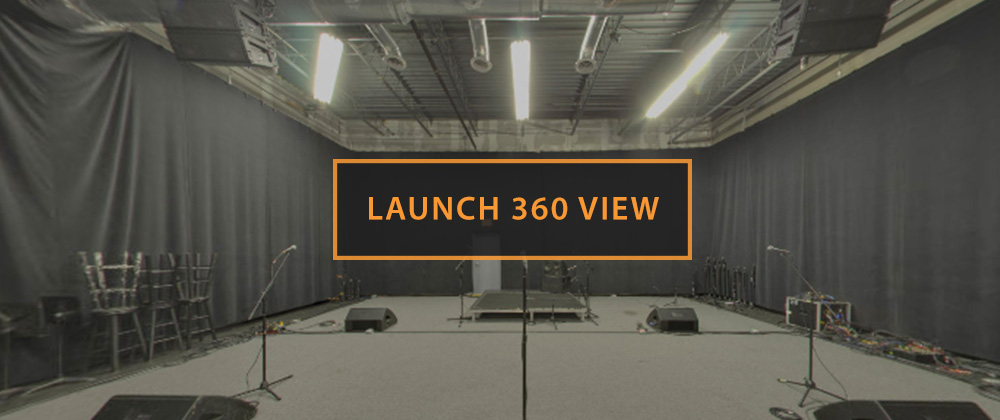 Rehearsal Studio I Launch 360 View
